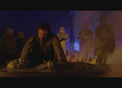 Star Wars, Darth Vader, Boba Fett, screenshots, Han Solo, Lando Calrissian - related desktop wallpaper