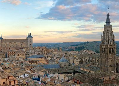 cityscapes, architecture, Toledo, cities - desktop wallpaper