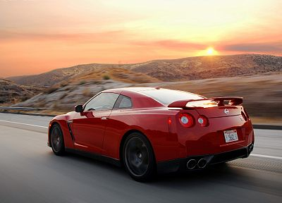 cars, Nissan, Nissan GT-R - random desktop wallpaper