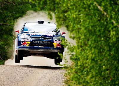 cars, racing, Citroen C4 WRC - desktop wallpaper