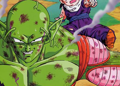 anime, Son Gohan, Piccolo, Dragon Ball Z - desktop wallpaper