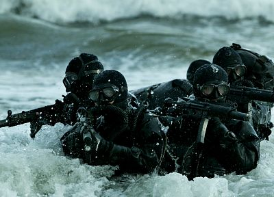 soldiers, army, military, navy, special forces, MP5, Polish Army, GROM, mp5sd6, Polish special forces - desktop wallpaper