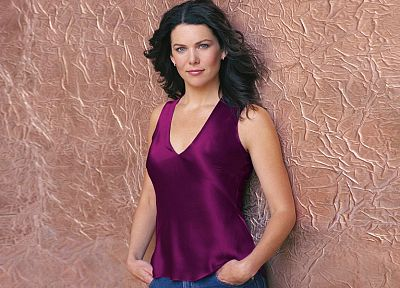 women, Lauren Graham - random desktop wallpaper