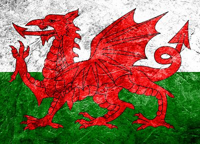 flags, Wales - desktop wallpaper