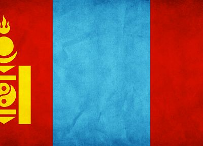 flags, Mongolia - random desktop wallpaper