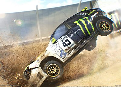 video games, 3D, Dirt 2 - related desktop wallpaper