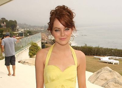 women, actress, celebrity, Emma Stone - desktop wallpaper