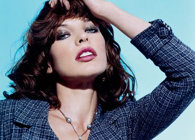 women, actress, Milla Jovovich - random desktop wallpaper