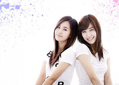 women, Girls Generation SNSD, celebrity, Kwon Yuri, Tiffany Hwang - random desktop wallpaper