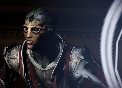 screenshots, Mass Effect 2, Drell, Feron - newest desktop wallpaper