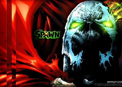 black, dark, Spawn - random desktop wallpaper