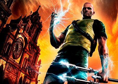 Infamous 2 - random desktop wallpaper
