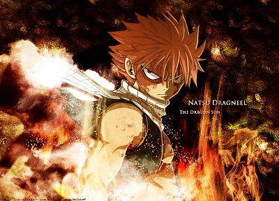 Fairy Tail, Dragneel Natsu - random desktop wallpaper