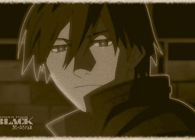 Darker Than Black, Hei - random desktop wallpaper
