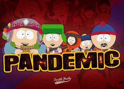 South Park, instruments, Eric Cartman, Stan Marsh, peruvian, Kenny McCormick, Kyle Broflovski - related desktop wallpaper
