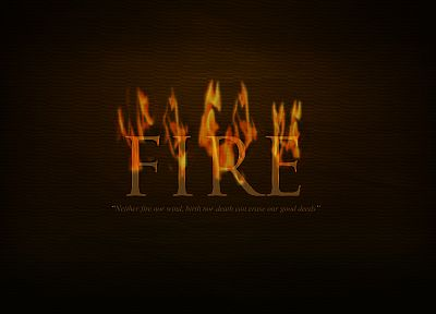 text, fire, quotes, typography - related desktop wallpaper