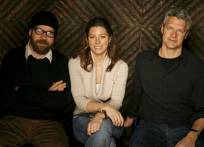 Jessica Biel, vespa, Paul Giamatti - desktop wallpaper