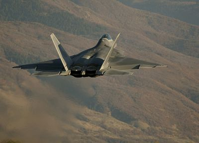 aircraft, military, F-22 Raptor - related desktop wallpaper