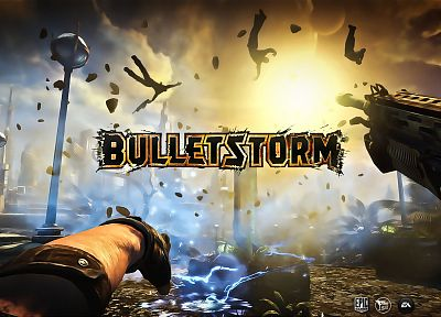 video games, ammunition, Bulletstorm - related desktop wallpaper