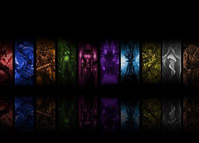 mage, World of Warcraft, priest, paladin, Rogue, Druid, warriors, death knight, shaman - related desktop wallpaper