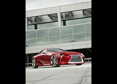 Hybrid, Lexus, concept art, coupe - random desktop wallpaper