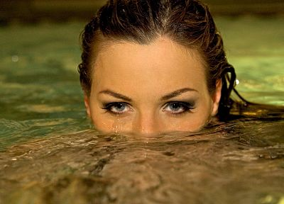 women, water, Jordan Carver - random desktop wallpaper
