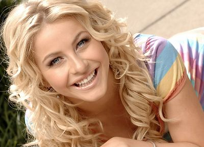 blondes, women, Julianne Hough - related desktop wallpaper