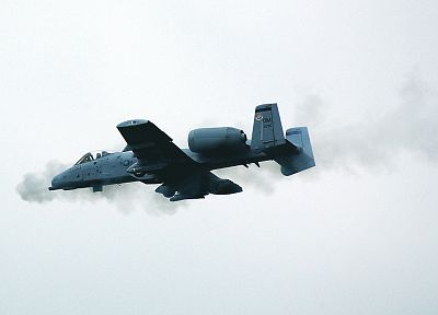 aircraft, military, A-10 Thunderbolt II - desktop wallpaper