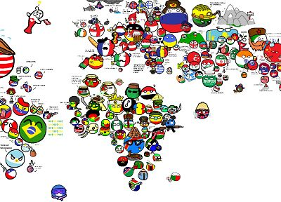 funny, Country, world map - related desktop wallpaper