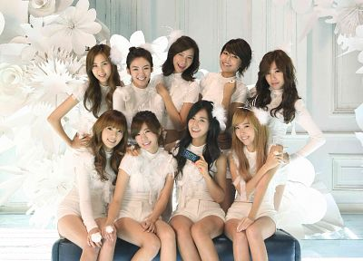 women, Girls Generation SNSD, celebrity, singers - desktop wallpaper