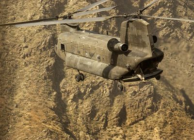 aircraft, military, helicopters, vehicles, CH-47 Chinook - desktop wallpaper