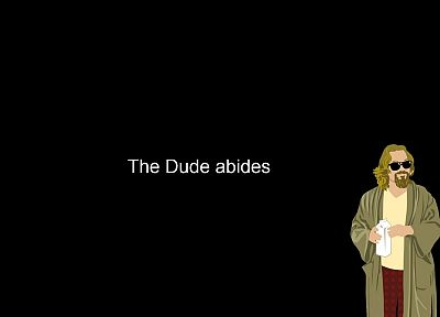 minimalistic, The Dude, The Big Lebowski - random desktop wallpaper