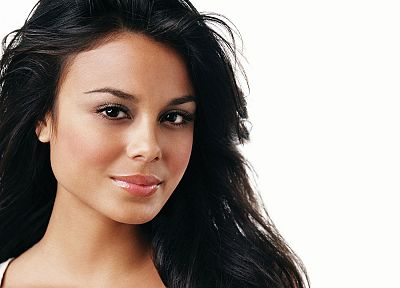 brunettes, women, actress, celebrity, Nathalie Kelley - random desktop wallpaper