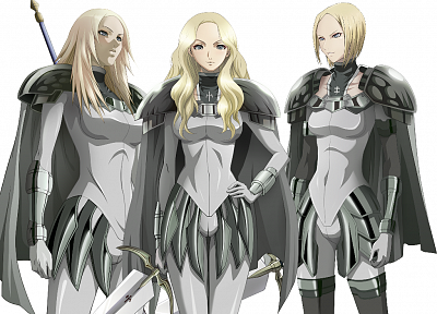 blondes, Claymore, anime girls - desktop wallpaper
