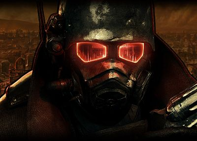 Fallout, post-apocalyptic, Fallout New Vegas, helmets - related desktop wallpaper