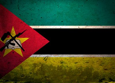 flags, Mozambique - random desktop wallpaper