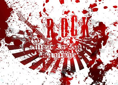 music, rocks - duplicate desktop wallpaper