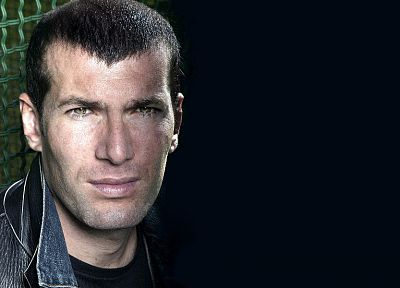 soccer, men, Zinedine Zidane, faces - related desktop wallpaper