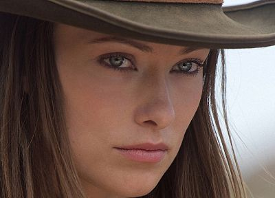 women, Olivia Wilde, Cowboys and Aliens - random desktop wallpaper