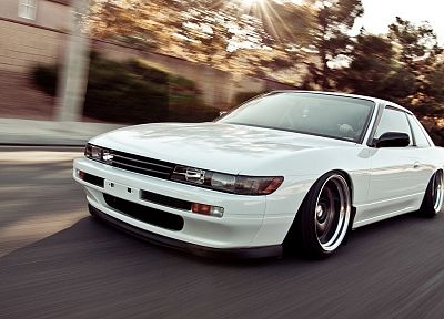 cars, vehicles, Nissan Silvia S13, stance, JDM Japanese domestic market, automobiles - random desktop wallpaper