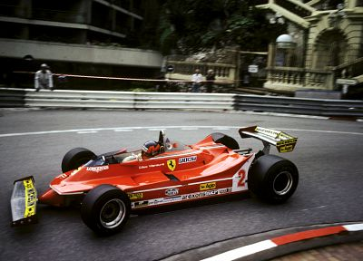 cars, Formula One, Gilles Villeneuve, Villeneuve - desktop wallpaper