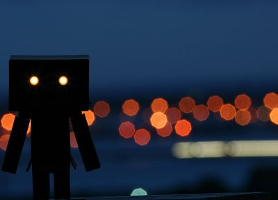 lights, bokeh, Danboard - related desktop wallpaper