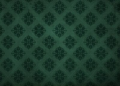green, patterns, damask - related desktop wallpaper