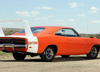 cars, Dodge Charger Daytona, classic cars - random desktop wallpaper