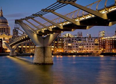 cityscapes, architecture, bridges, urban, buildings - related desktop wallpaper