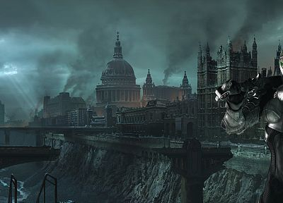 video games, Hellgate London - random desktop wallpaper