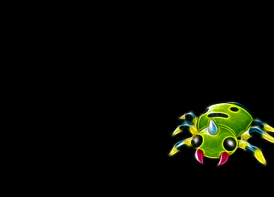 Pokemon, simple background, black background - random desktop wallpaper