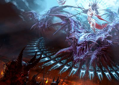 fantasy, dragons, artwork, 3D - related desktop wallpaper