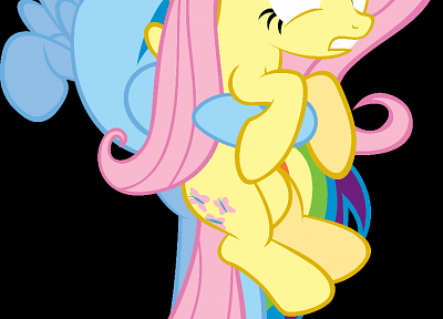 My Little Pony, Fluttershy, ponies, Rainbow Dash, My Little Pony: Friendship is Magic - related desktop wallpaper