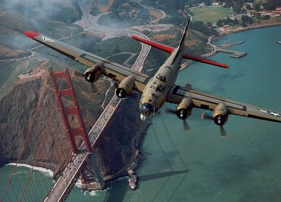 aircraft, bomber, vehicles, B-17 Flying Fortress - related desktop wallpaper